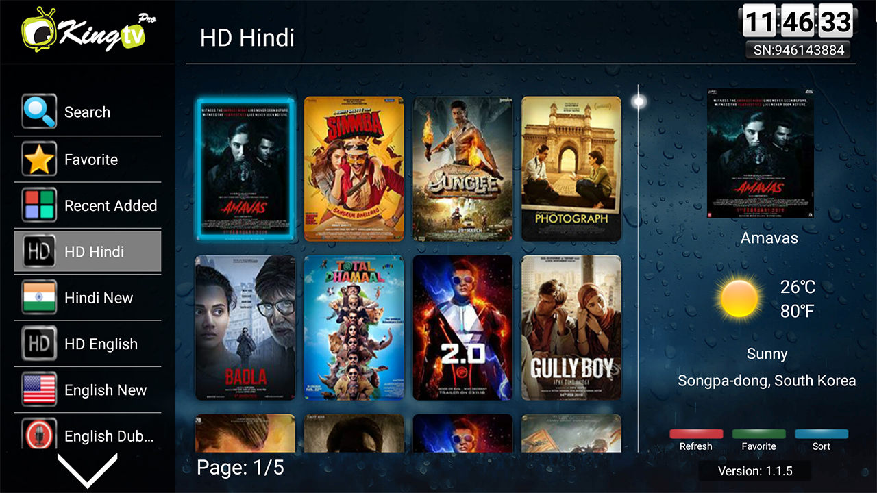 King Tv Pro HD Indian Movies