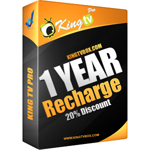 King Tv Pro Recharge 1 year
