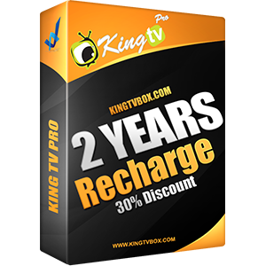 King Tv Pro Recharge 2 years